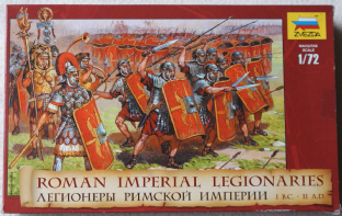 Zvezda 1/72 Z8043 Roman Imperial Legionaries (Ancients)
